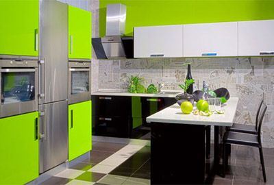stiling bright kitchen